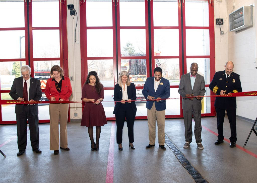 Coles District Fire and Rescue Station 6 ribbon cutting