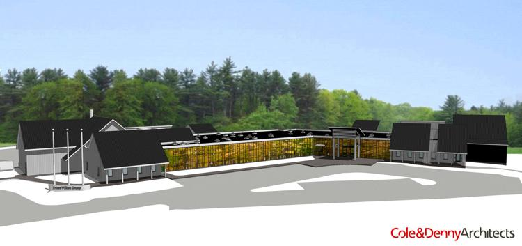 Rendering of a new prince william county animal shelter