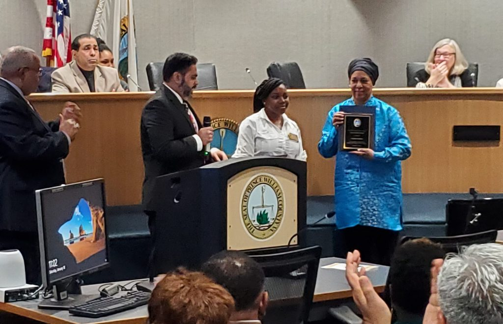 Prince William County Human Rights Commission honors award winners