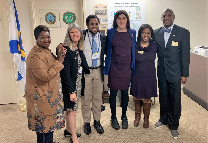 Prince William County Supervisors meet with Del. Danica Roem on VACo Day 2020