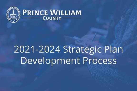 Strategic Plan Process 2021-2024.Graphic