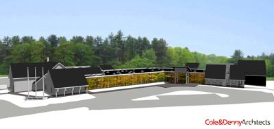 rendering of Option C Prince William County Animal Shelter