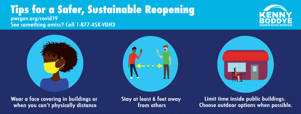 tips for reopening FB graphic