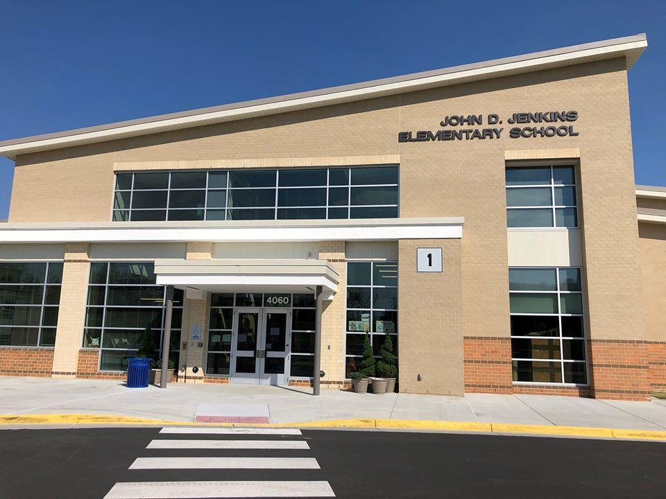 John Jenkins Elementary School_front of building