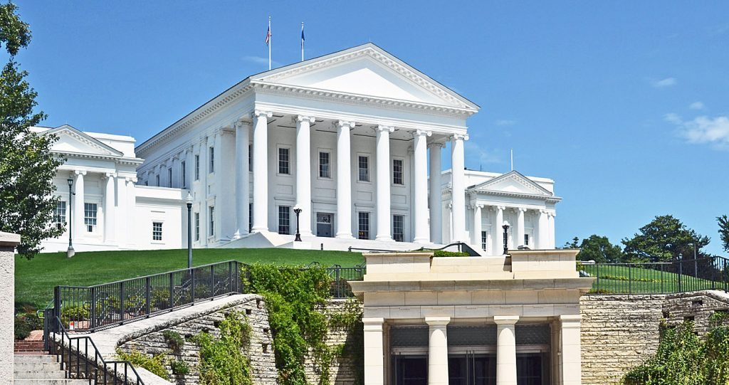 Virginia State Capitol Exterior