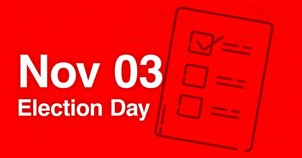 Election Day Graphic Nov 3