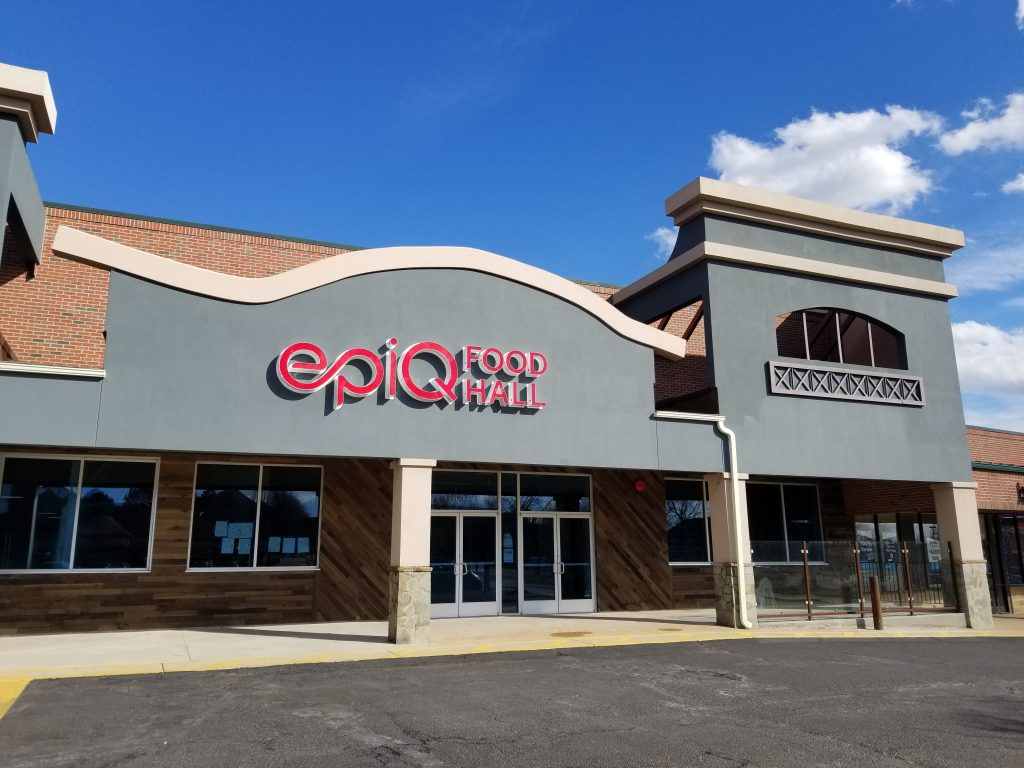 The epiQ Food Hall is being build in Noblewood Plaza in Occoquan District
