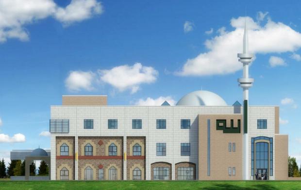 Dar Al Noor Mosque renders expansion project