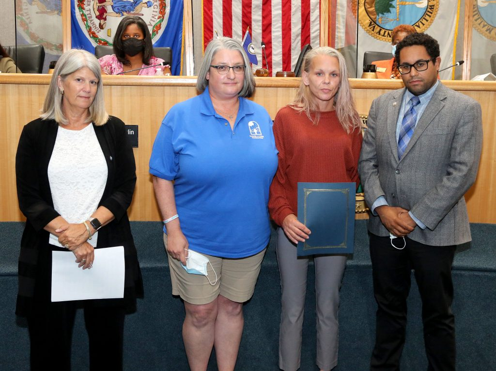Chair Wheeler and Supervisor Boddye declare Sept 5-11 Suicide Prevention Week in Prince William